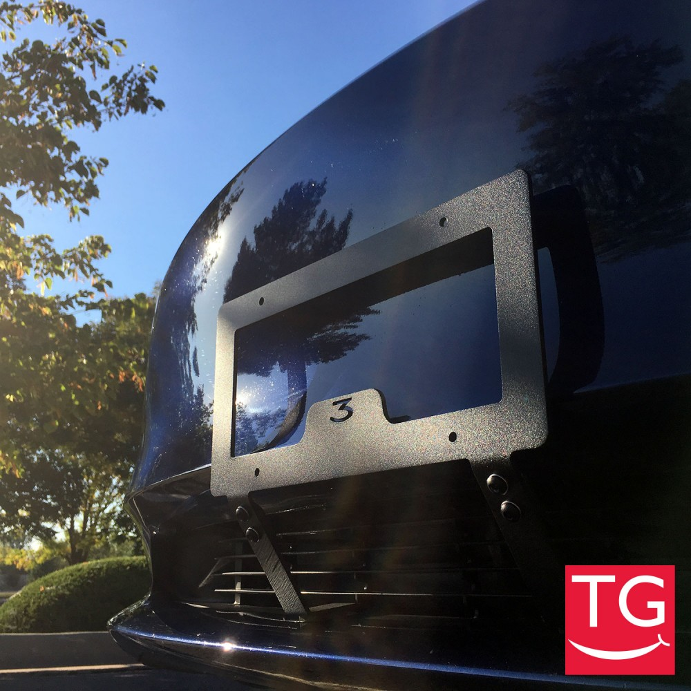 ThatGrin com | Slipstream Bracket No Drilling Front License Plate